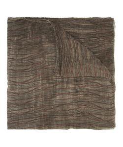 Uma Wang | Striped Scarf Mens Cotton