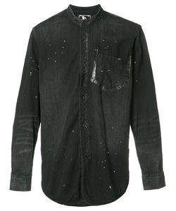 Prps | Mandarin Neck Shirt Mens Size Medium Cotton
