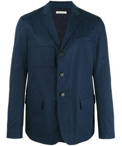 Marni | Unconstructed Single-Breasted Blazer Mens Size 50 Cotton