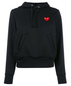 Comme Des Garçons Play | Heart Patch Hoodie Womens Size Small
