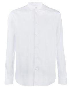 Paolo Pecora | Mandarin Collar Shirt Mens Size 41 Cotton
