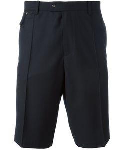 PLAC | Pleat Detail Shorts Mens Size Xl Cotton/Polyester/Rayon