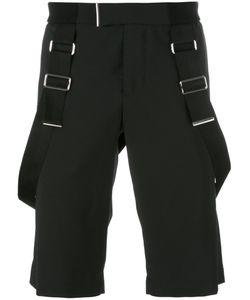 Les Hommes | Braces Detail Shorts Mens Size 48 Polyester/Virgin Wool/Spandex/Elastane/Nylon
