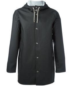 Stutterheim   Drawstring Hood Raincoat Adult Unisex Size Medium Pvc