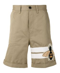 Gucci | Bee Patch Fla Shorts Mens Size 30 Cotton