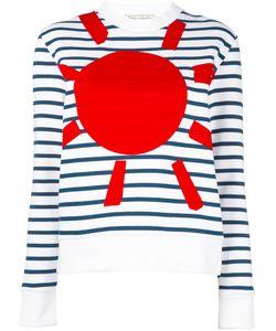 Être Cécile | Printed Breton Stripe Sweatshirt Womens Size Medium Cotton