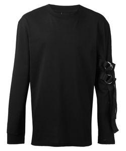 D.Gnak   Strap Sweatshirt Mens Size 46 Cotton/Polyester/Spandex/Elastane