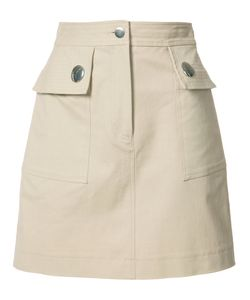 Adam Lippes | Pocketed Mini Skirt Womens Size 0 Cotton