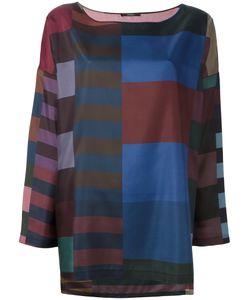 Odeeh | Printed Silk Blouse Womens Size 42 Silk