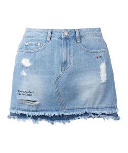 Steve J & Yoni P | Denim Mini Skirt Womens Size Xs