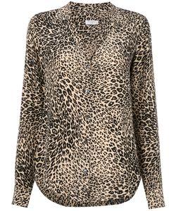 Equipment | Leopard Print Shirt Womens Size Xs Silk