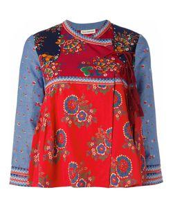 Ulla Johnson | Oriental Style Jacket Womens Size 6 Cotton/Linen/Flax