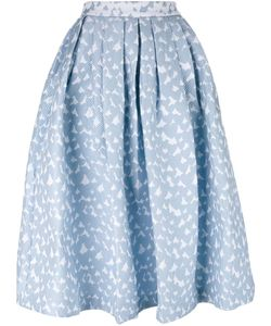 House Of Holland | Heart Dirndl Skirt Womens Size 10 Cotton/Polyester/Polyamide/Rayon