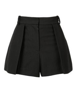 Vera Wang | Pleated Mini Skirt Womens Size 0 Cotton/Nylon/Wool