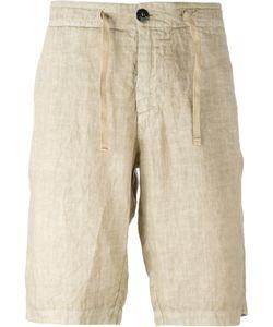 Stone Island | Drawstring Shorts Mens Size 32 Linen/Flax