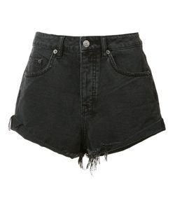 Ksubi | Frayed Denim Shorts Womens Size 28 Cotton