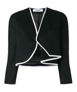 Chalayan | Side Drape Bolero Womens Size 42 Acetate/Viscose