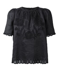 Isabel Marant | Embroide Top Womens Size 40 Ramie
