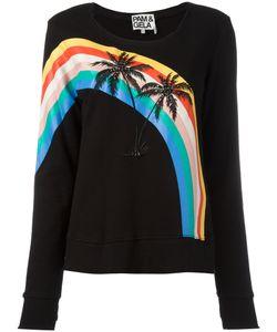 Pam & Gela | Palm Trees Sweatshirt Womens Size Small Cotton