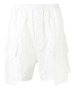 Rick Owens   Cargo Shorts Mens Size 48 Cotton/Rubber