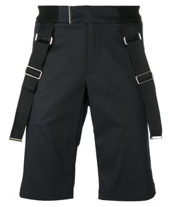 Les Hommes | Strap Detail Shorts Mens Size 54 Cotton/Spandex/Elastane/Nylon