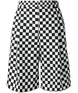 Givenchy | Checke Print Shorts Mens Size 48 Polyamide/Cupro