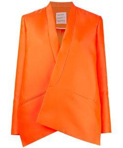 Maison Rabih Kayrouz   Oversized Blazer Womens Size 38 Silk/Polyester/Acetate/Cupro