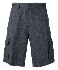 Brunello Cucinelli   Tailo Shorts Mens Size 48 Cotton/Linen/Flax/Acetate/Cupro