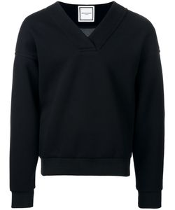 Wooyoungmi | V-Neck Sweatshirt Mens Size 44 Polyester/Rayon