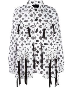 KTZ | Monogram X Latin Gathe Coat Adult Unisex Size Small