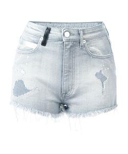 Marcelo Burlon County Of Milan | Distressed Denim Shorts Womens Size 26