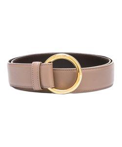 Loro Piana | Circle Buckle Belt Womens Size 85 Calf Leather