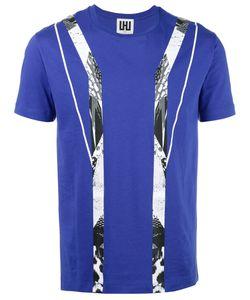 Les Hommes Urban   Geometric Print T-Shirt Mens Size Xxl Cotton