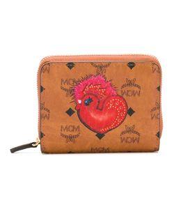 MCM | Logo Print Wallet Womens Calf Leather