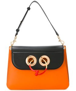 J.W.Anderson | Contrast Bullring Lock Bag Womens Calf Leather