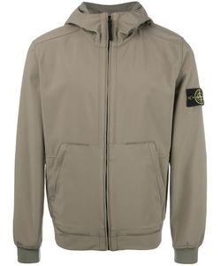 Stone Island   Hooded Zip Jacket Mens Size Xxl Polyester/Spandex/Elastane