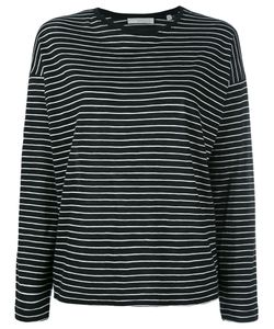 Vince | Striped Longsleeved T-Shirt Womens Size Large Cotton