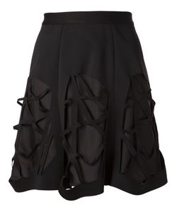 Sid Neigum   Layered Cut-Out Skirt