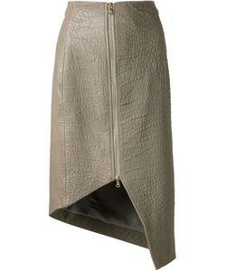Dominic Louis | Asymmetric Pencil Skirt