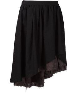 Aleksandr Manamïs   Asymmetric Pleated Layered Skirt