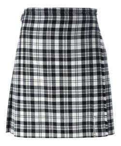 Le Kilt   Pleated Checked Skirt