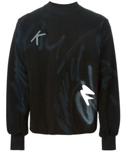 Klar | Graffiti Print Sweatshirt