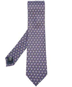 Ermenegildo Zegna | Geometric Print Tie Mens Silk