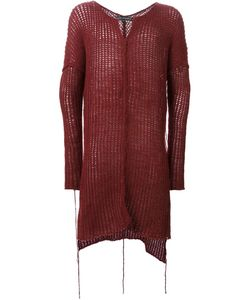 Cedric Jacquemyn   Long Open Knit Sweater