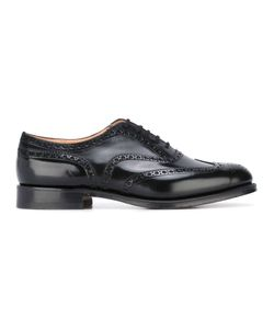 Church's | Classic Brogues Mens Size 7 Calf Leather/Leather