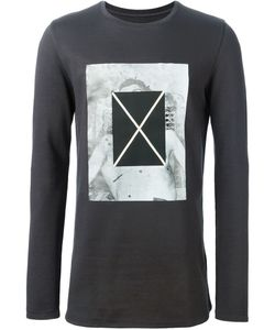 Cy Choi | Print And Patch Sweatshirt