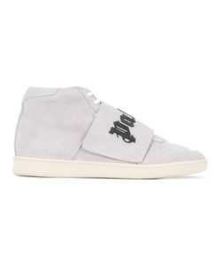 Palm Angels | Palm Logo Sneakers Mens Size 45 Leather/Suede/Rubber