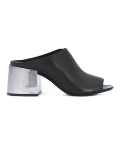 Mm6 Maison Margiela | Block Heel Sandals Womens Size 38.5 Calf