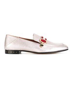 Bally | Livilla Slippers Womens Size 38.5 Lamb Skin/Leather