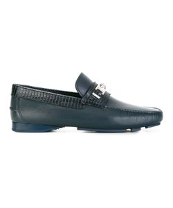 Versace | Medusa Head Loafers Mens Size 41.5 Leather/Rubber